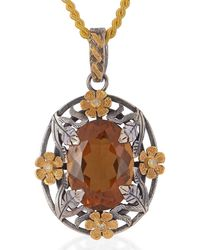 Emma Chapman Jewels - Honey Topaz Flower Bower Pendant - Lyst