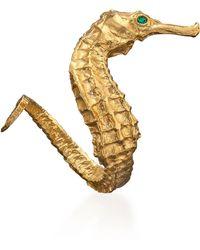 Catherine Zoraida - Seahorse Ring Gold - Lyst