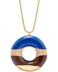 Tadam! Design - Vanilla Doughnut With Blueberry Coffee & Gold Glaze - Lyst