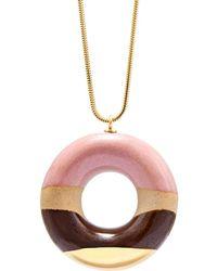 Tadam! Design - Vanilla Doughnut With Strawberry Coffee & Gold Glaze - Lyst