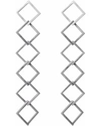 Helen Rankin - Geom Constant Drop Earrings - Lyst
