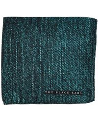 The Black Ears - The Green Jean Silk Pocket Square - Lyst