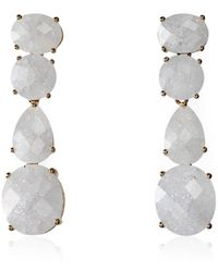 Cielle - Pierres De Cielle Earrings White - Lyst