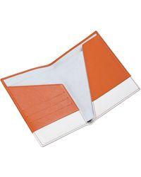 Stow - Luxury Soft Leather Passport Wallet - Lyst