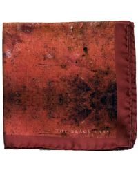 The Black Ears - The Dirtiest Red Silk Pocket Square - Lyst