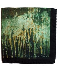 The Black Ears - The Rusty Metal Silk Pocket Square - Lyst