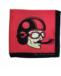 The Black Ears - The Red Dapper Man Silk Pocket Square - Lyst