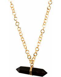 Tiana Jewel - Goddess Smokey Quartz Choker Necklace Siena Collection - Lyst