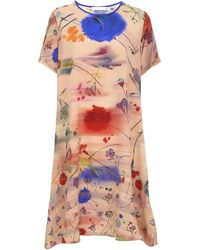 Klements - Frieda Dress In Floral Explosion Blurs Print - Lyst