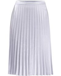 Paisie - Pleated Skirt In Light Blue - Lyst