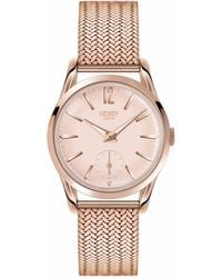Henry London - Ladies 30mm Shoreditch Stainless Steel Watch - Lyst