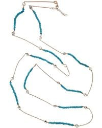 Cosanuova - Long Turquoise Necklace - Lyst