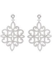 Latelita - Sherazade Earrings Silver - Lyst