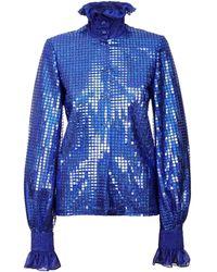 Jiri Kalfar - Royal Blue Sequin Shirt - Lyst
