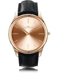 Kennett Watches - Kensington Rose Gold Black - Lyst