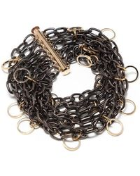 Amundsen Jewellery | Gunmetal Chain Bracelet | Lyst