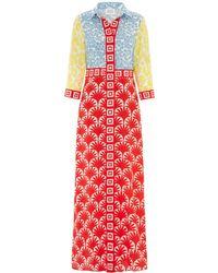 Hayley Menzies Jasmine Shirt Dress Multicolour
