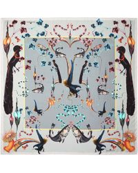 Klements - Rainbow Trout Square Scarf - Lyst