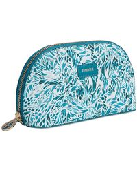 Fonfique - Aura Make-up Case Flora Turquoise - Lyst