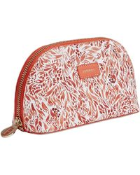 Fonfique - Aura Make-up Case Flora Orange - Lyst