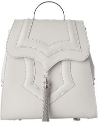 OKHTEIN - Ivory White Mini Palmette Backpack - Lyst