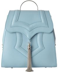 OKHTEIN - Blue Mini Palmette Backpack - Lyst