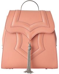 OKHTEIN - Peach Mini Palmette Backpack - Lyst