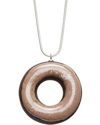 Tadam! Design - Chocolate Doughnut With Hazelnut Glaze - Lyst