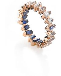 Myriamsos - The Skyline Collection Coloured Eternity Ring - Lyst