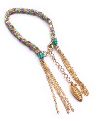 Miss High & Low - Fine Mint Bracelet Gold - Lyst