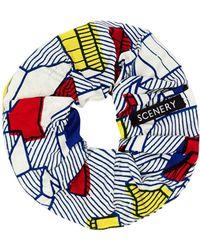 Scenery Label - Blocks Scrunchie - Lyst