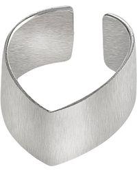 Dutch Basics - Silver Point Ear Cuff - Lyst