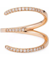 Sarah Ho - Sho - Numerati Ring Rose Gold Lucky Number 3 - Lyst