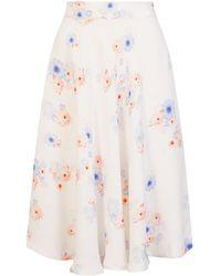 Sophie Cameron Davies - Beach Flower Midi Skirt - Lyst