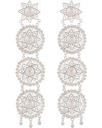 Vanilo | Amaya Silver Earrings | Lyst