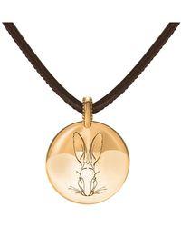 Hargreaves Stockholm - Bracteate Gold Pendant - Lyst
