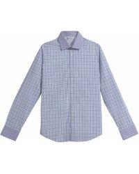Arthur Shirtley - Swiss Cottage Prune Shirt - Lyst