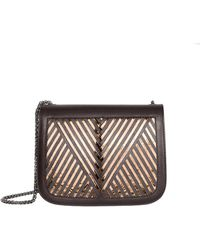 Lili Radu - Coachella Bag Metallic V - Lyst