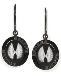 Vintouch Italy - Wings Cameo Earrings - Lyst
