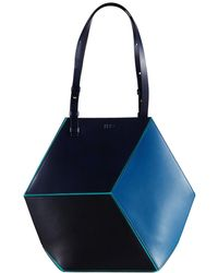 HEIO - The Cube Macarella Large Tote - Lyst