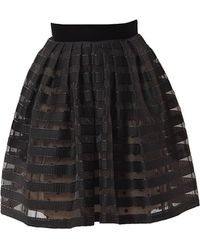 Victor Xenia London - Onyx Skirt - Lyst