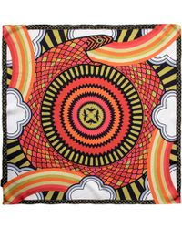 Furious Goose - Cosmic Ouroboros Imperial Pocket Square - Lyst