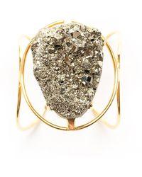 Tiana Jewel - Marly Pyrite Bracelet - Lyst