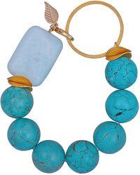 Magpie Rose - Turquoise & Vermeil Bracelet - Lyst