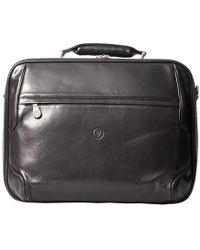 Maxwell Scott Bags - Luxury Black Leather Laptop Case The Volterra - Lyst