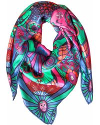 Furious Goose - We're All Going To Die, Pucci Large Silk Scarf - Lyst