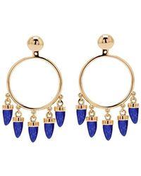 Eshvi - Fang Earrings - Lyst