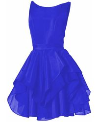 Philosofée - Illusions Dress Royal Blue - Lyst