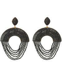 LÁTELITA London - Monaco Earring Black Spinel - Lyst
