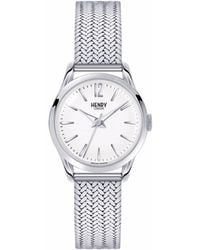 Henry London - Ladies 25mm Edgware Stainless Steel Bracelet Watch - Lyst